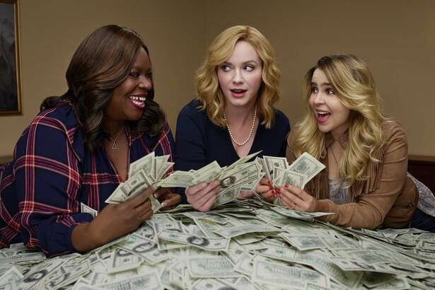 """""""Good Girls"""": This robbery caper is lifted above the usual crime drama thanks to refreshing glints of comedy and a trio of captivating leads: Christina Hendricks (""""Mad Men""""), Retta (""""Parks and Recreation"""") and Mae Whitman (""""Parenthood""""). It's also fairly easy to understand why these middle-class, suburban moms turn to crime — severe money problems. Beth is in danger of losing everything, including her home, because of the gross mismanagement of funds by her philandering husband (Matthew Lillard). Ruby (Retta) can't afford the expensive medications needed for her daughter's illness. And Annie (Whitman) is in danger of losing custody of her teenage daughter to her ex (Zach Gilford), unless she finds the money to fight him. In fact, it's her idea to rob the supermarket where she works. As you might expect, it's not as easy as it looks. But even when trouble hits, the grins keep coming. (9 p.m. Mondays, NBC; premiere, Feb. 26)"""