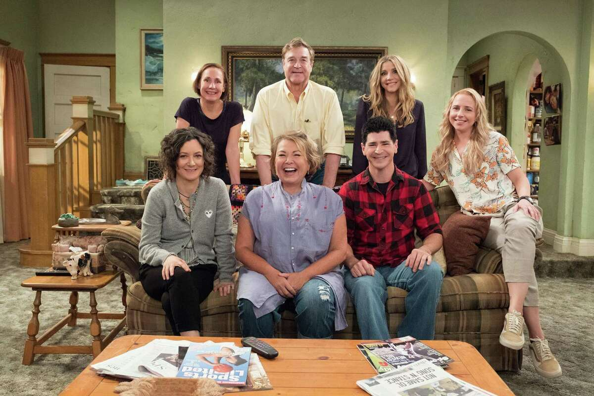 """By contrast, the Conner family struggles to make ends meet in the reboot of sitcom """"Roseanne"""" on ABC."""
