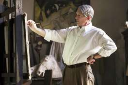 """Antonio Banderas, with white hair and worn skin, disappears into the role of the older Picasso in his creative heyday in National Geographic's second season of """"Genius."""""""