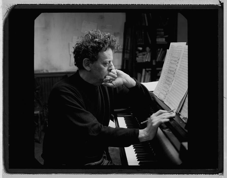 Composer Philip Glass' characteristic music style, reaching back more than 50 years, is recognized by many listeners. Photo: Johansen Krause