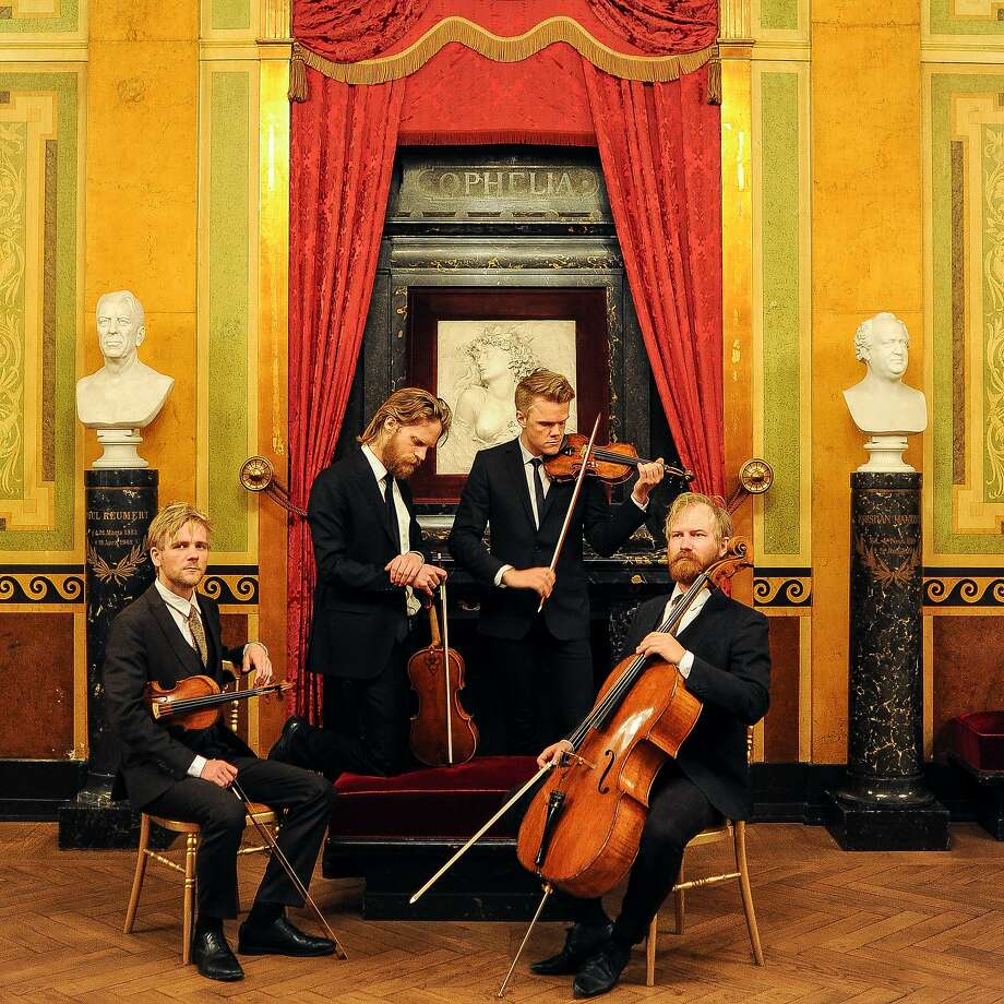 The Danish String Quartet played at the Herbst Theatre. Photo: Caroline Bittenco