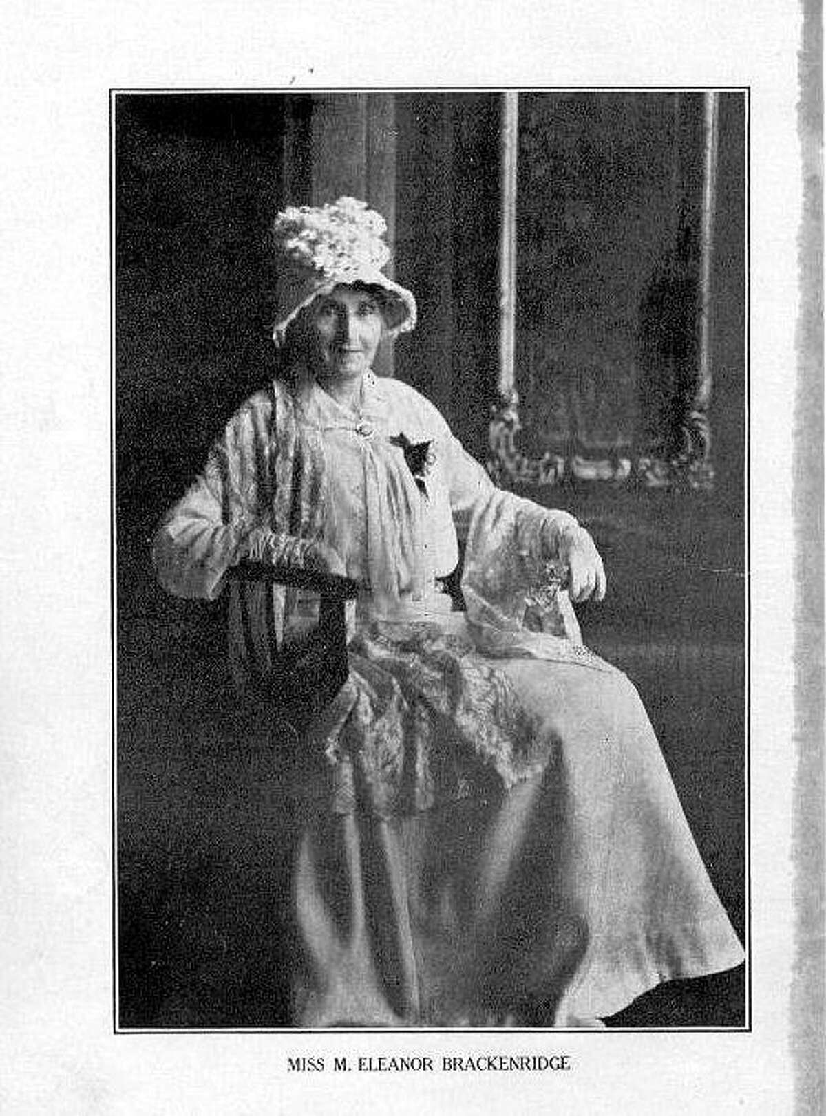 Eleanor Brackenridge fought for women's rights and promoted education.