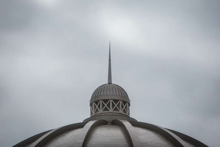 The dome of the Harris County Civil Courthouse in Houston as it appeared  in 2014. ( Michael Paulsen / Houston Chronicle ) Photo: Michael Paulsen, Staff / © 2014 Houston Chronicle