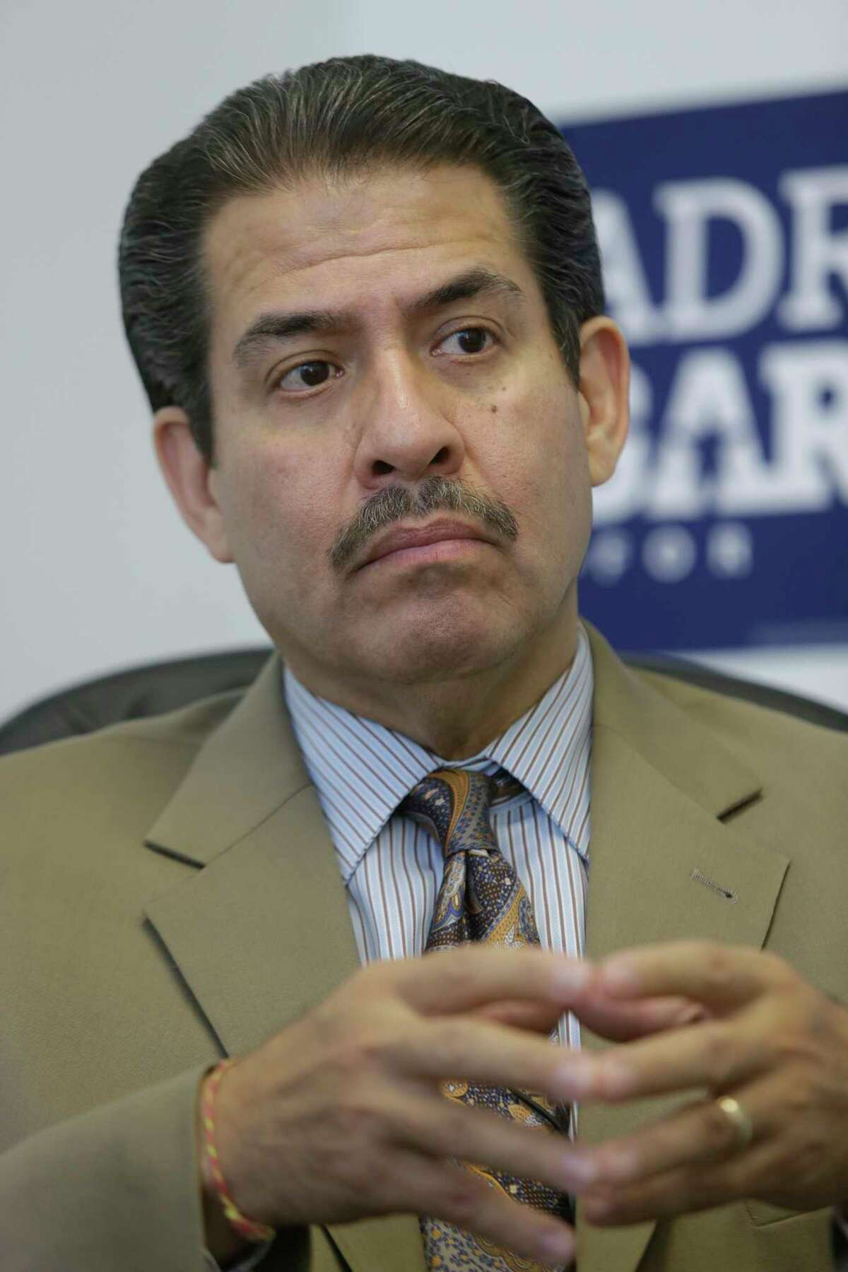 Former Harris County sheriff Adrian Garcia is a candidate for Harris County Commissioner, Precinct 2 (Chronicle file photo )