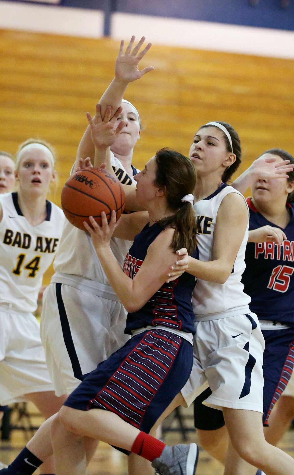 USA at Bad Axe - Girls Basketball 2018