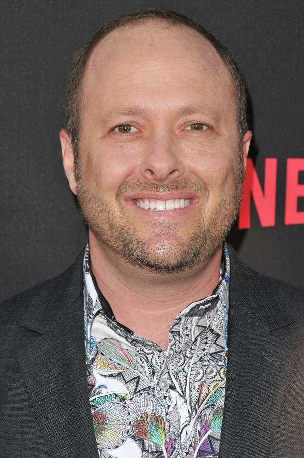 "Author Jay Asher at Netflix's ""13 Reasons Why"" Los AngelespPremiere held Thursday, March 30, 2017 at the Paramount Pictures Studios in Los Angeles, Calif. Asher was expelled from a prominent children's writing organization over claims of sexual harassment. (Sthanlee B. Mirador/Sipa USA/TNS) Photo: Sthanlee B. Mirador, MBR / Sipa USA"