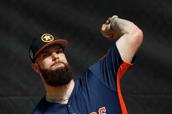 Dallas Keuchel got off to a 9-0 start last year before a pinched nerve in his neck led to two stints on the disabled list. He finished 14-5 with a 2.90 ERA.
