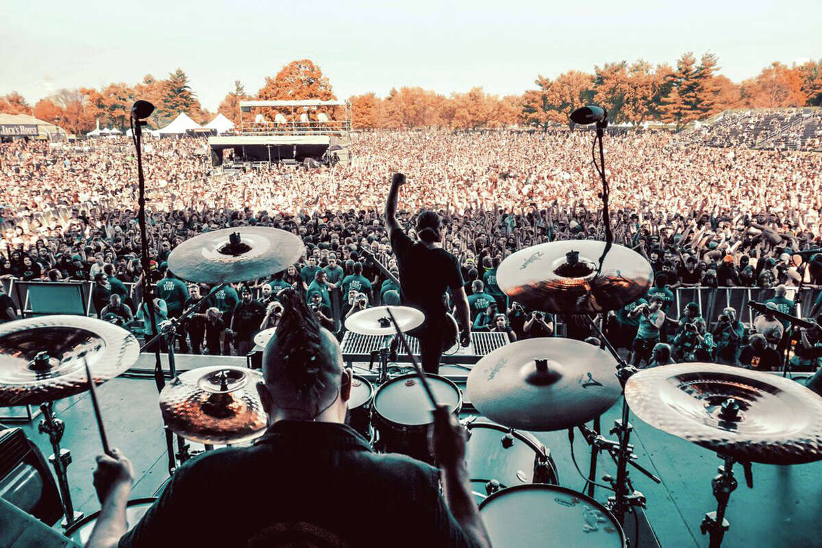 A view from the 2017 Louder Than Life festival in Louisville, Ky.