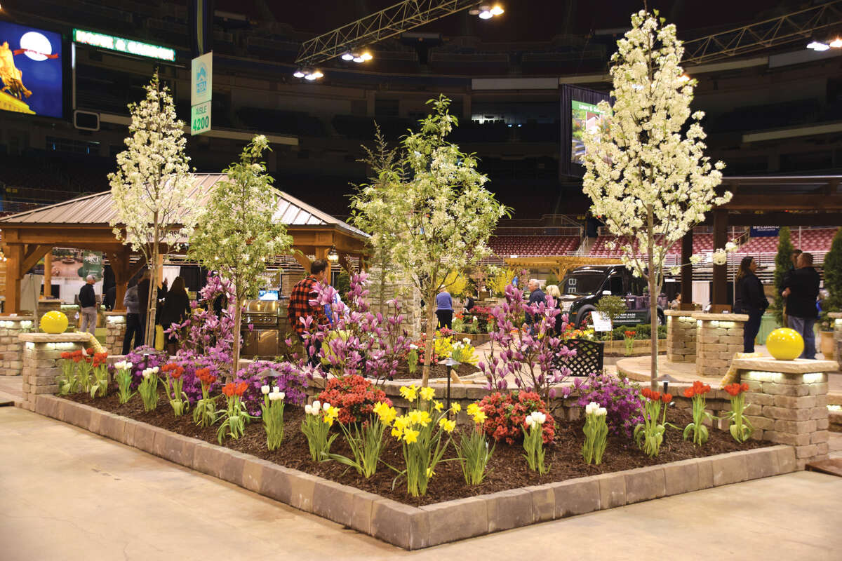 A display at a previous Home & Garden Show.