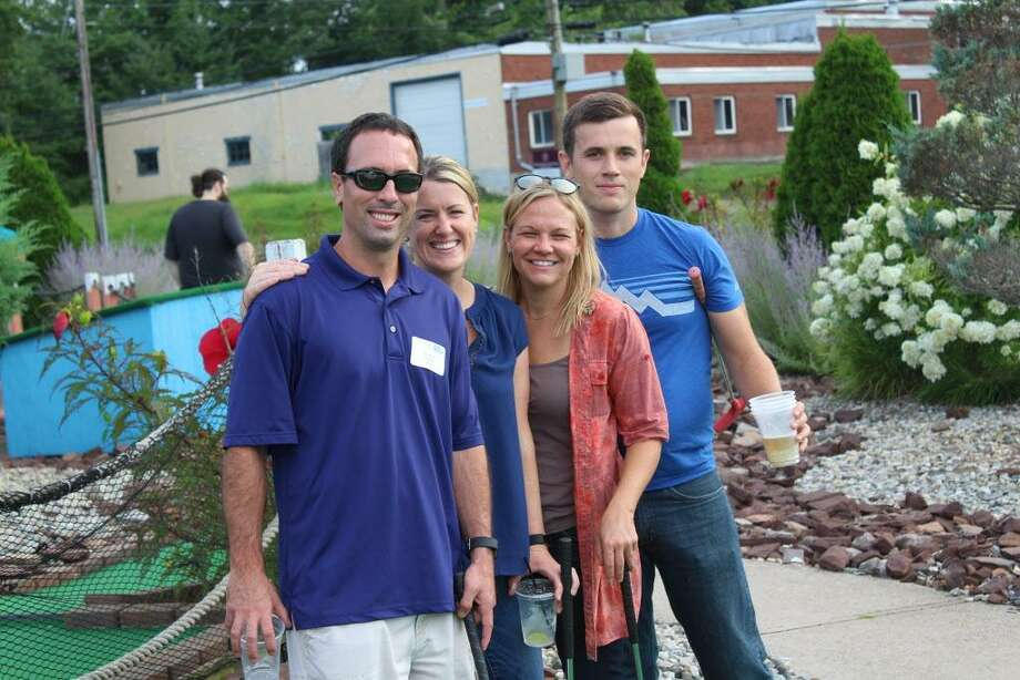 Members of the Middlesex United Way Young Leaders Society take part in the annual Putts-for-a-Purpose event in August. Photo: Contributed Photo