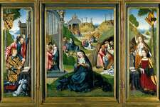 "The ""Master of the Legend of Magdalen"" triptych."