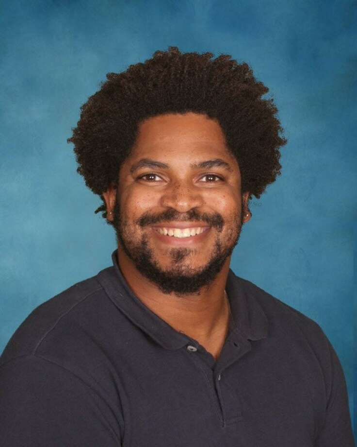 Dwight Sharpe, an eighth-grade mathematics teacher at Woodrow Wilson Middle School in Middletown, has been given a grant from the 2018 Rogers Educational Innovation Fund. Photo: Contributed Photo