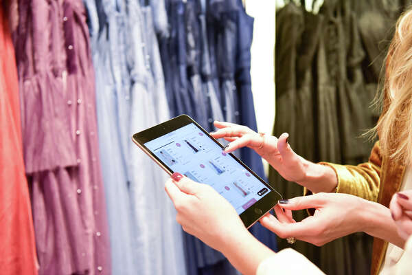 Online bridal shop Weddington Way has opened inside the Banana Republic store at Highland Village.