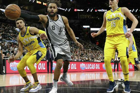 Guard Patty Mills was the subject of some trade speculation.