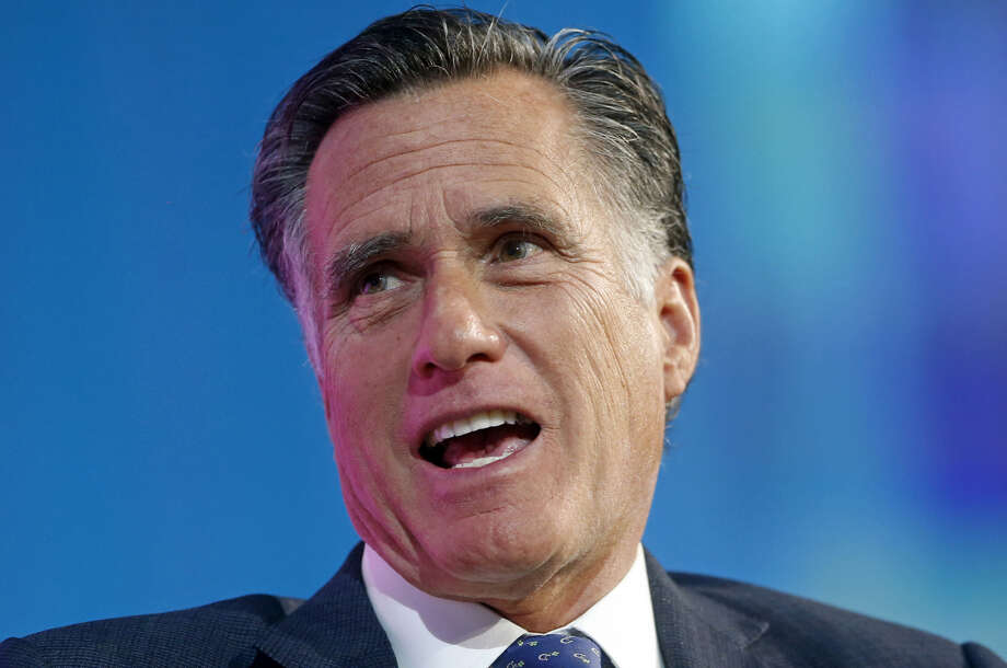Mitt Romney announced Friday that he is running for U.S. Senate seat being vacated by retiring Orrin Hatch. Photo: Associated Press