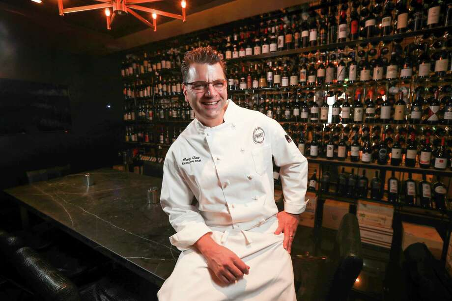 Danny Trace, executive director of Potente and Osso & Kristalla restaurants, will serve as executive chef for Monarch Hospitality, a new catering and event group launched by partners Bill Floyd and Tony Gutierrez. Photo: Steve Gonzales, Houston Chronicle / © 2017 Houston Chronicle