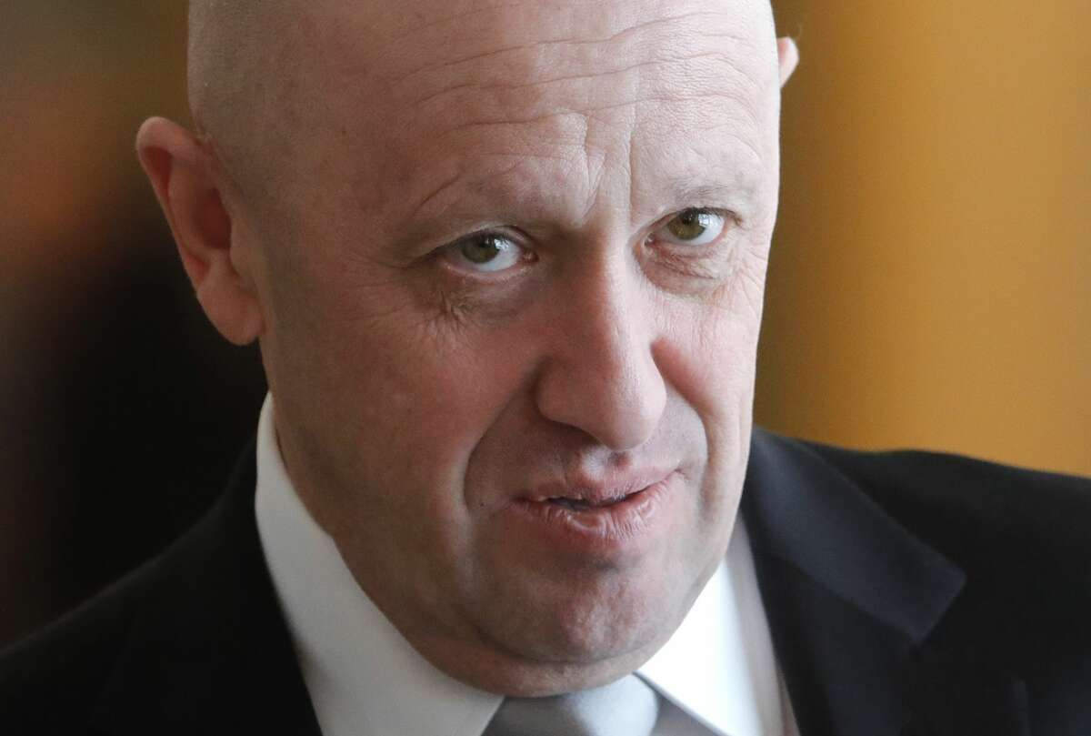 Concord Catering General Director Yevgeny Prigozhin seen after the sixth meeting of the High-Level Russian-Turkish Cooperation Council. Mikhail Metzel/TASS (Photo by Mikhail Metzel\TASS via Getty Images)