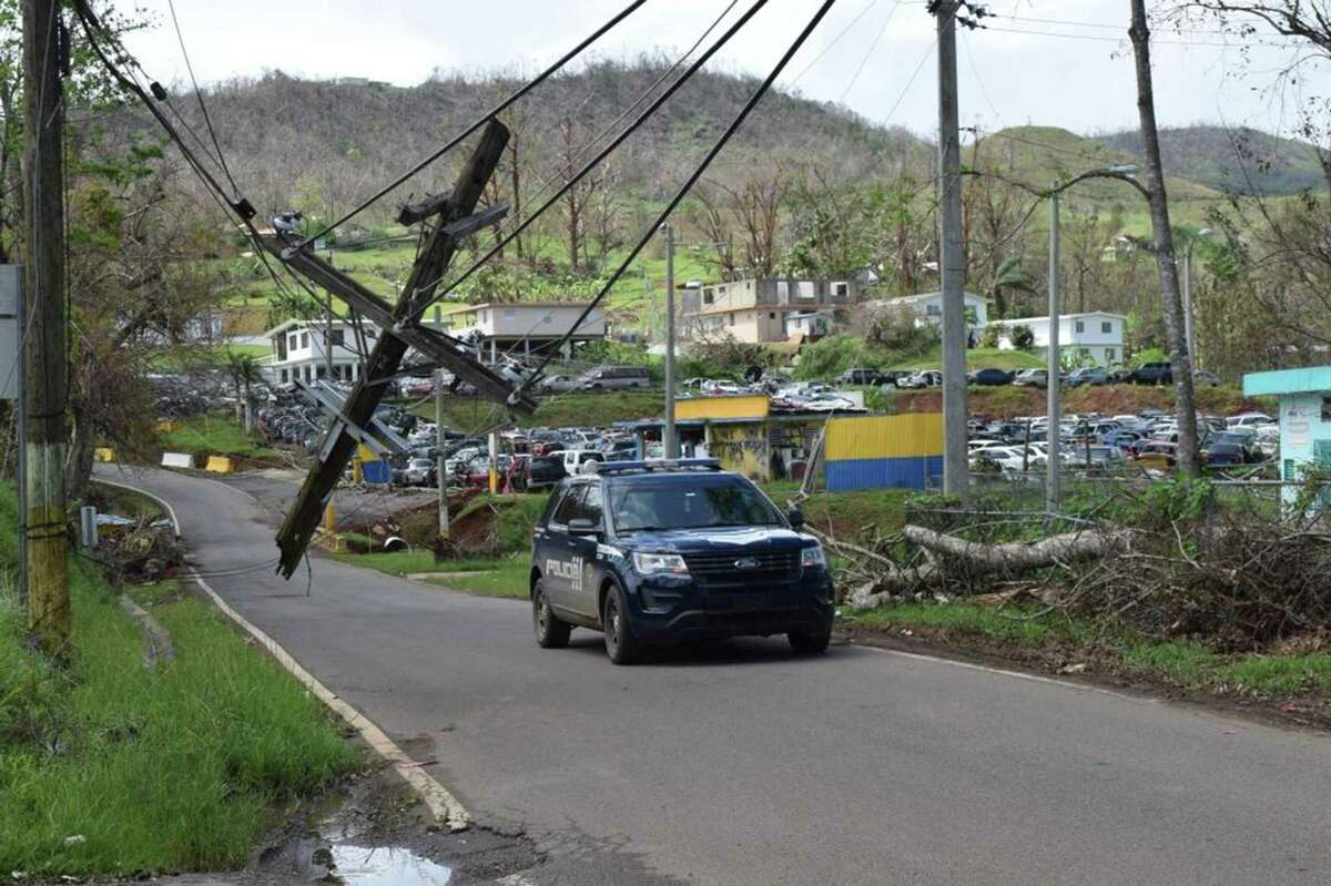 Puerto Rico's mountainous central region was hard hit by Hurricane Maria. Stamford-based insurer Navigators Group took a combined $71 million hit in 2017 from the impact of Hurricanes Maria, Irma and Harvey and an earthquake in Puebla, Mexico.
