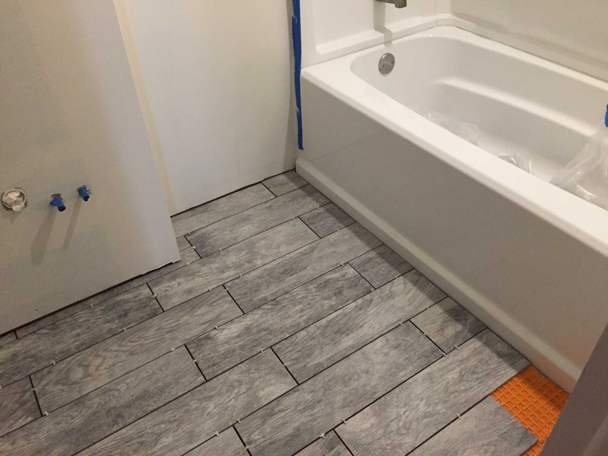 flooring ideas for bathrooms tips on tackling diy home projects times union 18357
