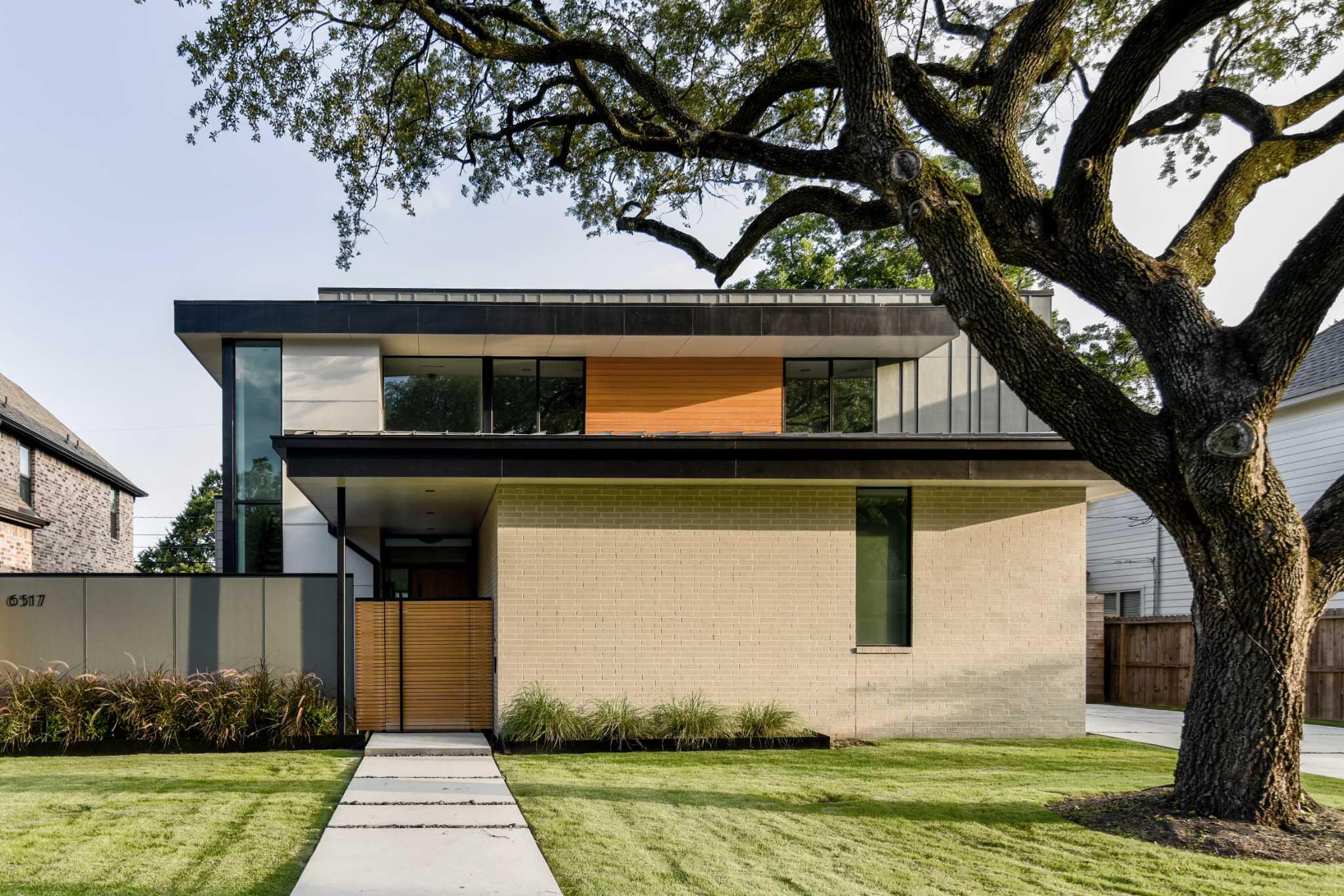 Modern meets hindu design principles in spring branch home