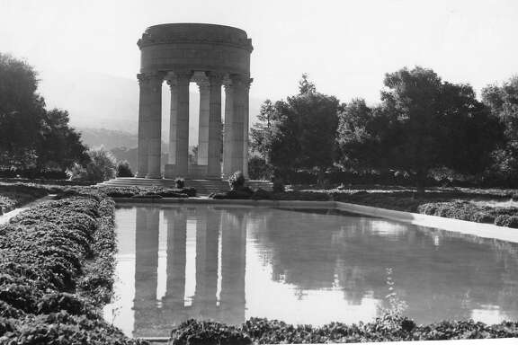 Pulgas Water Temple, which is near the Crystal Springs Watershed, October 12, 1956
