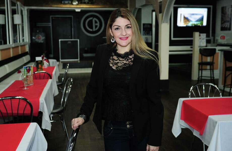 CB Restaurant & Lounge owner Diana Londono, in her new restaurant Thursday, February 15, 2018, in Norwalk, Conn. Londono hopes CB Restaurant & Lounge will do well amid continued revitalization of the Wall Street area. Photo: Erik Trautmann / Hearst Connecticut Media / Norwalk Hour
