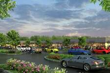 A artists rendering of the proposed shopping center at 899 Bridgeport Avenue in Shelton, Conn. R.D. Scinto plans to build the 26,200 square foot shopping center on roughly three acres of land at 899-905 Bridgeport Avenue.
