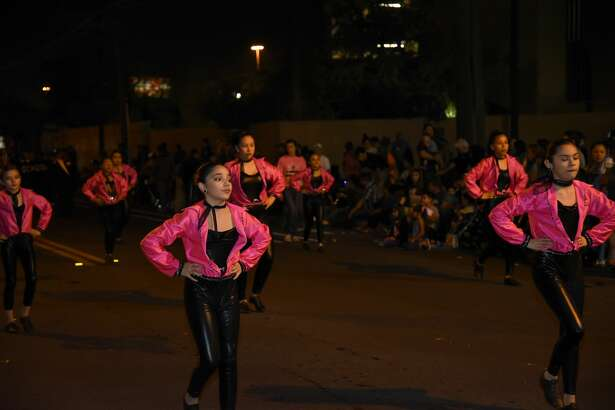 Participants in the IBC Youth Parade Under The Stars, Thursday, February 15, 2018.