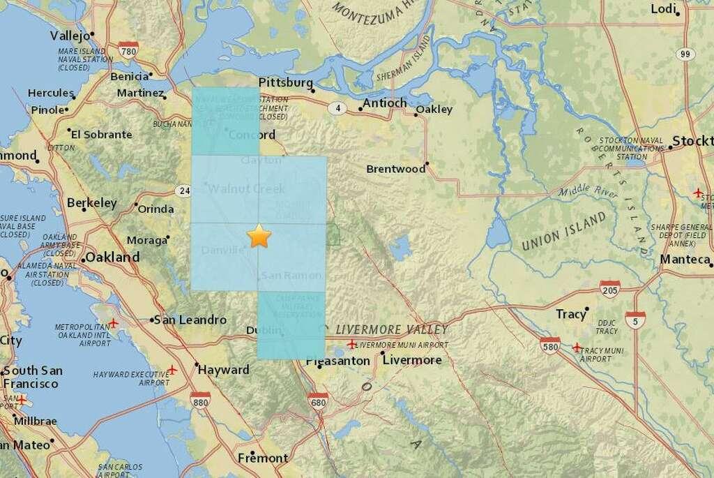 San Jose Earthquake Map Usgs The United