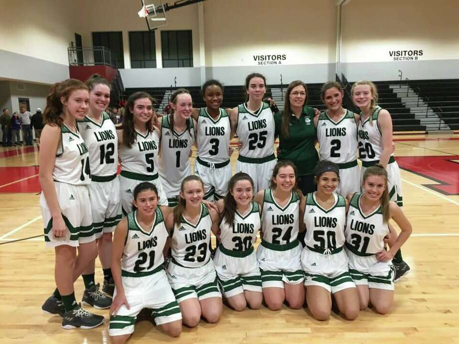 The Legacy Prep girls basketball team captured the first-ever district championship in school history on Tuesday. Photo: Submitted Photo