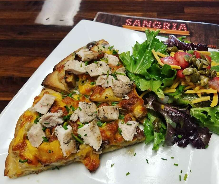 Chicken Pot Pie Pizza is one of the pizzas that will be served at Whisky Rose. Photo: Courtesy Ceasar Zepeda