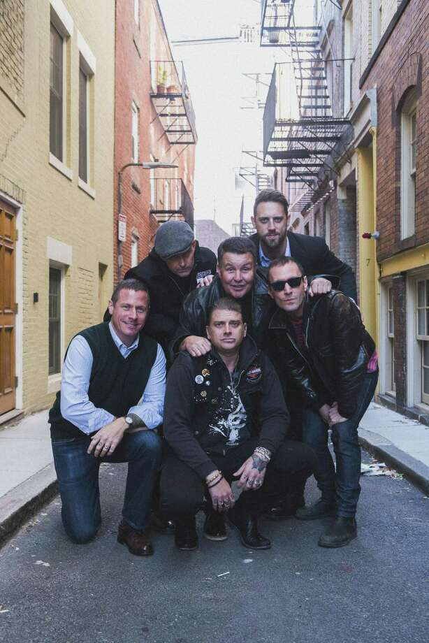 The Dropkick Murphys, Matt Kelly, left, Al Barr, James Lynch, Ken Casey, Tim Brennan and Jeff DaRosa, perform at Mohegan Sun Arena on Feb. 24. Photo: Gregory Nolan / Contributed Photo / GREGORY NOLAN
