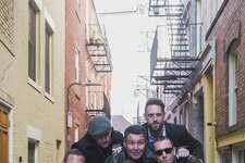 The Dropkick Murphys, Matt Kelly, left, Al Barr, James Lynch, Ken Casey, Tim Brennan and Jeff DaRosa, perform at Mohegan Sun Arena on Feb. 24.