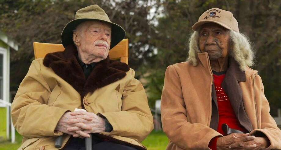 "A scene from the Academy Award-nominated short documentary, ""Edith & Eddie,"" about two seniors who marry late in life. Photo: Edith & Eddie / Contributed Photo"