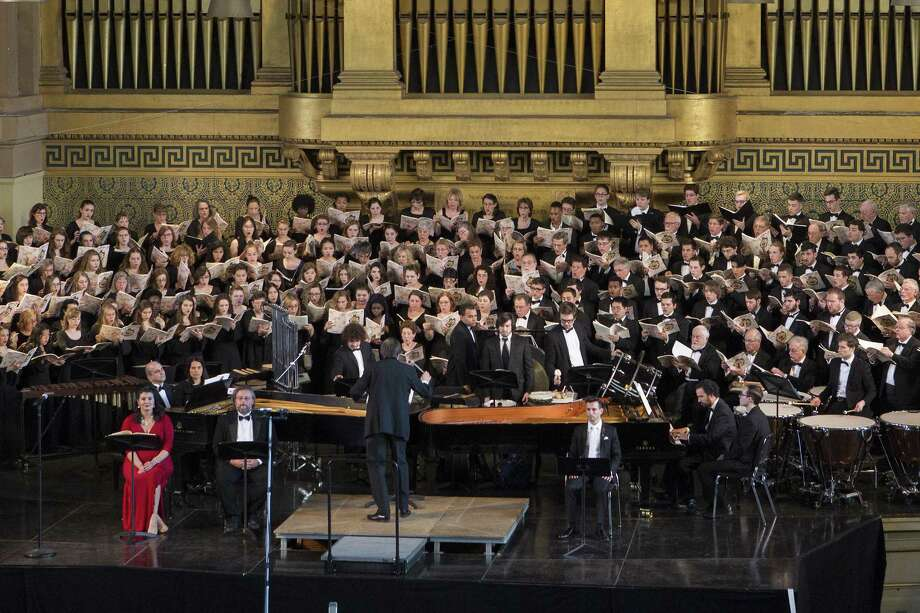 The New Haven Chorale will perform at Bethesda Lutheran Church in New Haven on Feb. 25. Photo: New Haven Chorale / Contributed Photo / Photo Credit Must Be Given:Harold Shapiro