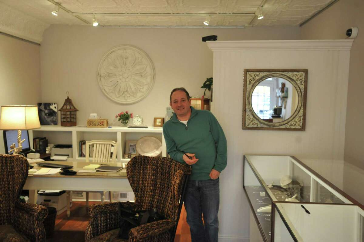 Andrew Goldstein recently moved Ideal Jewelers from Waterbury to Litchfield, as he continues a longtime family business in a new home.