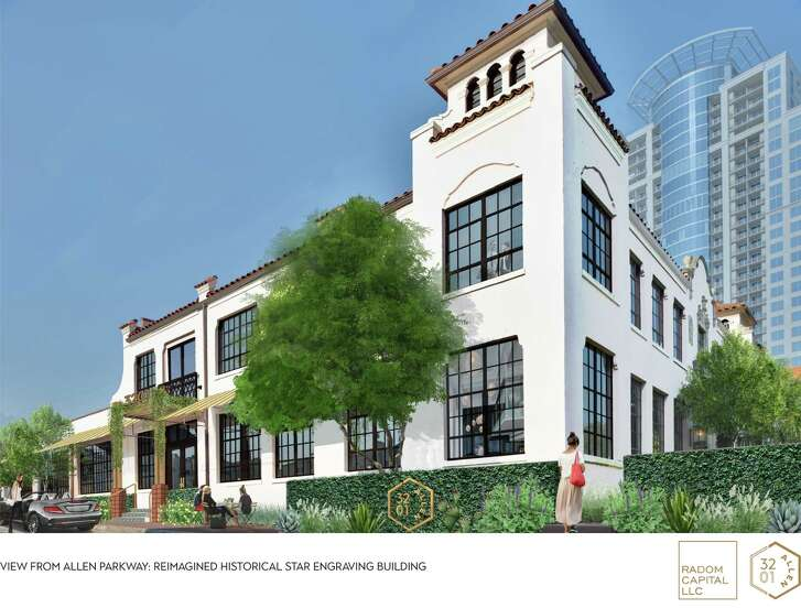 Rendering of Radom Capital's Gensler-designed 3201 Allen Parkway project
