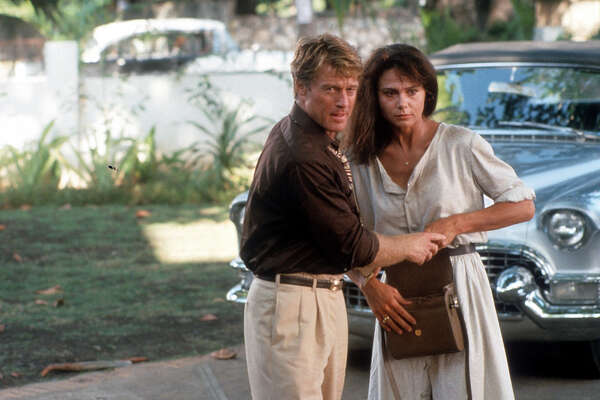 4. Havana (1990)   Thank God they finally got around to making this epic about Fidel Castro's 1959 triumph in Cuba when they did, because the Cold War ended the next year. Between taking drags on Pall Malls and gulping down añejo-and-coffees, gambler Robert Redford manages to find time to woo one of the planet's ultimate foxes, Lena Olin. It also demonstrates that when you're not thinking with the proper organ, you will do stupid things like drive a '58 Cadillac into the middle of a revolution.