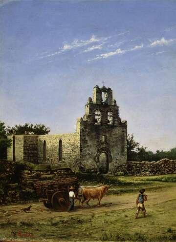 Gentilz Captured Old San Antonio In Art Expressnews Com