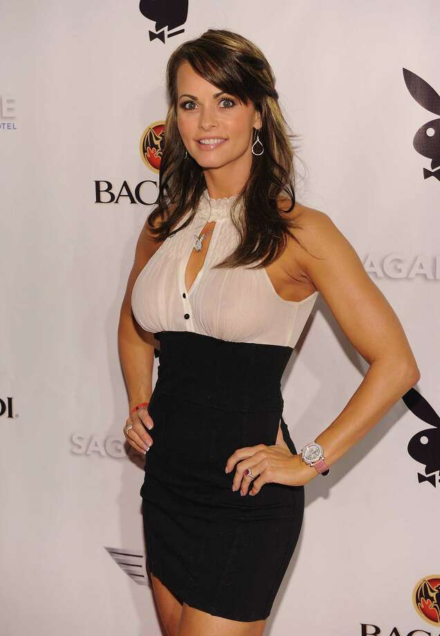 Karen McDougal attends Playboy's Super Saturday Night Party at Sagamore Hotel on February 6, 2010 in Miami Beach, Florida.  (Photo by Dimitrios Kambouris/Getty Images for Playboy) Photo: Dimitrios Kambouris / 2010 Getty Images