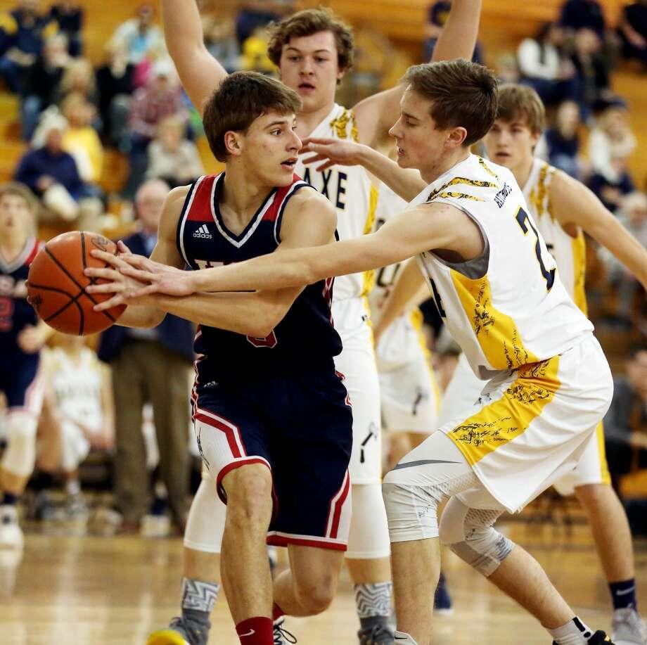 USA at Bad Axe — Boys Basketball 2018 Photo: Paul P. Adams/Huron Daily Tribune