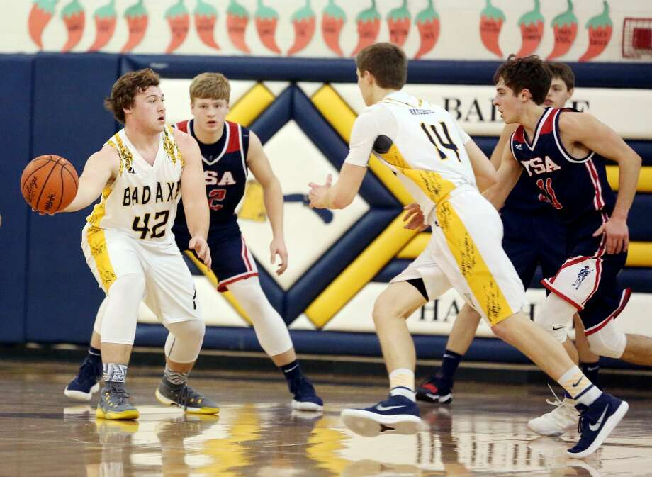 USA at Bad Axe — Boys Basketball 2018 Photo: Paul P. Adams/Huron Daily Tribune