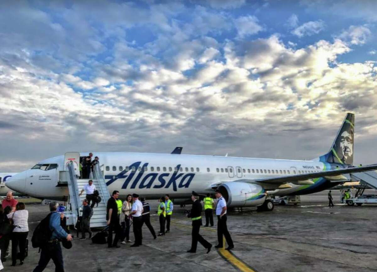 #2 Combined with Virgin America, Alaska Airlines flies 12,357 seats per day SFO