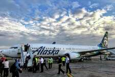 #2 Combined with Virgin America, Alaska Airlines flew12,357 seats per day SFO in 2017- I've combined both airlines' numbers for this ranking. Last year, the two operated separately with Virgin flying 9,041 seats (ranking #2), and Alaska flying 3,316 (ranking #6 between Delta and JetBlue). Starting in January, Virgin America and Alaska began operations under a single certificate, although they will continue to use different names for the next few years.