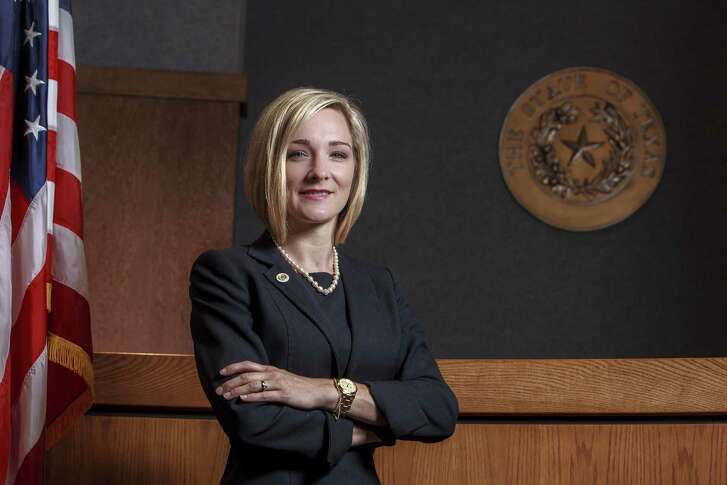 Jennifer Tharp, Comal County criminal district attorney, faces three challengers in the March 6, 2018, Republican primary.