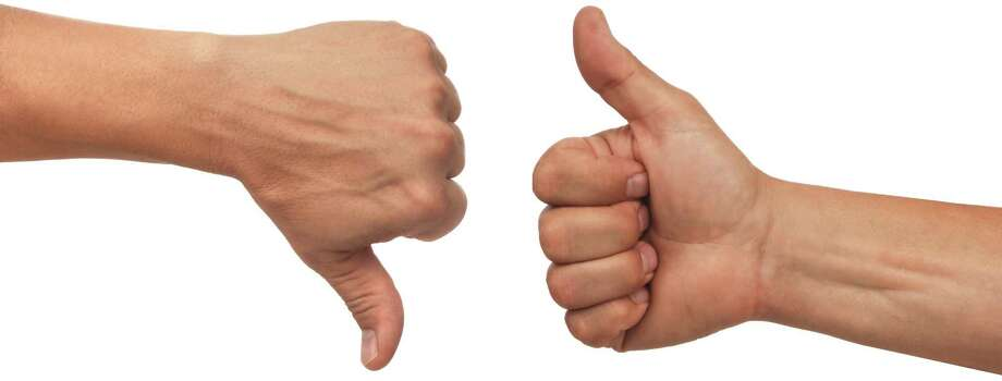 Image result for thumbs up thumbs down