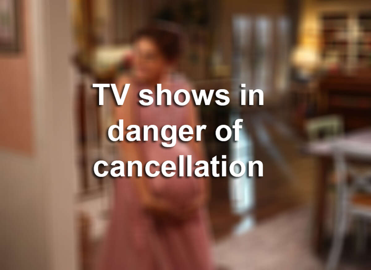 Television shows in danger of cancellation.