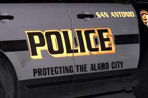 San Antonio Police car