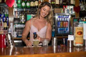 The downtown bar hosted its annual Naughty or Nice Valentine's Day party a couple of days late, Friday night, Feb. 16, 2018.