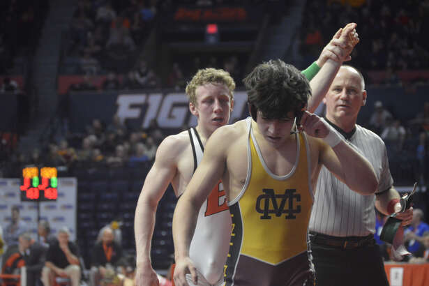 Edwardsville sophomore Luke Odom takes 3rd at the state tournament.